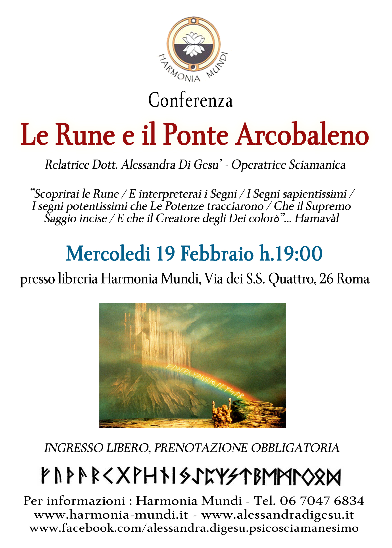 Le Rune e il ponte arcobaleno